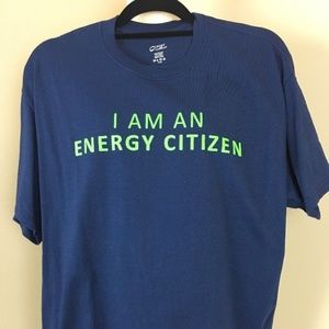 """Other - Short Sleeves T-Shirt Size L """"I Am Energy Citizen"""